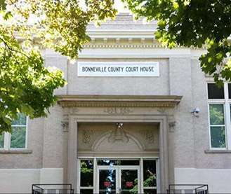 Bonneville County Courthouse in Idaho Falls, Idaho