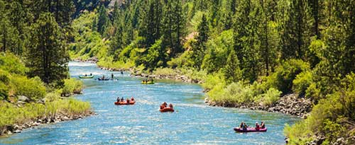 Rafting, Payette River, Near Horseshoe Bend, Idaho