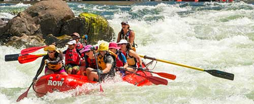 Whitewater Rafting, Lower Salmon Canyon, Near Lewiston, Idaho